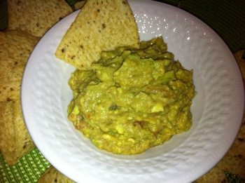 Very Simple Guacamole Recipe