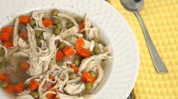 Crockpot Chicken Noodle Soup