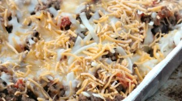 Easy Taco Casserole Recipe (It freezes great!)