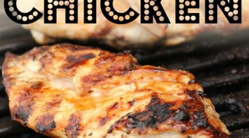 Grilled Teriyaki Chicken with BBQ