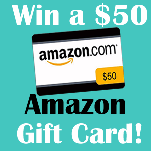 Giveaway Time – Enter to Win a $50 Amazon Gift Card!!