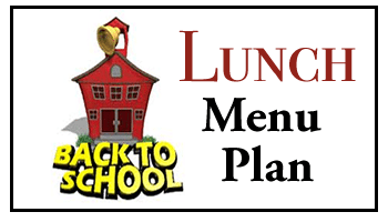 Our Back to School Lunch Menu Plan (Thursday & Friday)