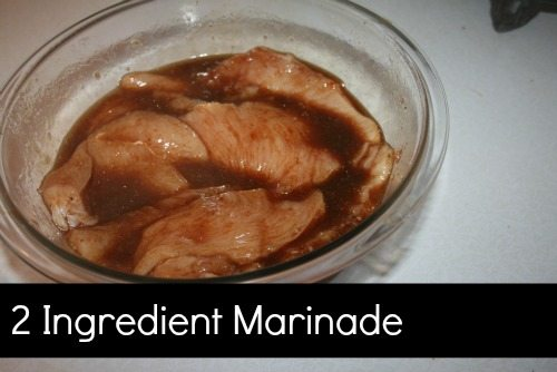 2 Ingredients! – Italian Soy sauce Marinade