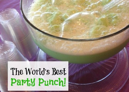 The World's Best Party Punch Recipe!