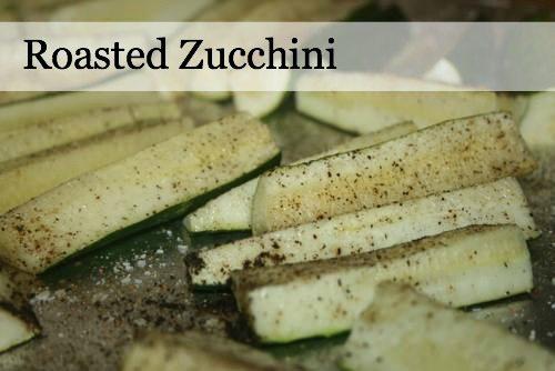 10 Minute Roasted Zucchini Recipe