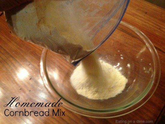 How to Make Homemade Cornbread Mix