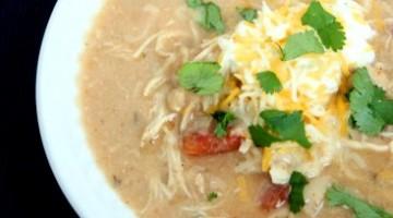 White Chicken Taco Chili Recipe