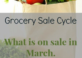 What Groceries Go on sale in March