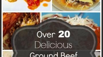 Over 20 Ground Beef Crockpot Recipes