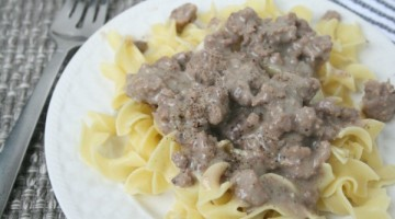 Beef and Noodles Recipe – 20 minute dinner