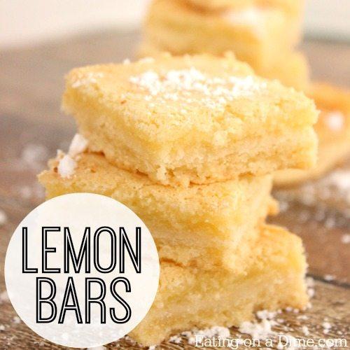 bars so easy lemon bars lemon blueberry bars strawberry lemon bars ...