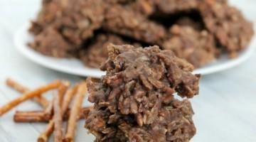 Pretzel No Bake Cookie Recipe