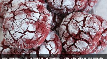 Red Velvet Cookies Recipe