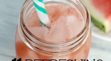 11 Delicious Watermelon Drink Recipes