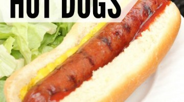 How to Grill Hot Dogs – perfectly everytime