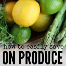 How to Save on Produce without Using Coupons