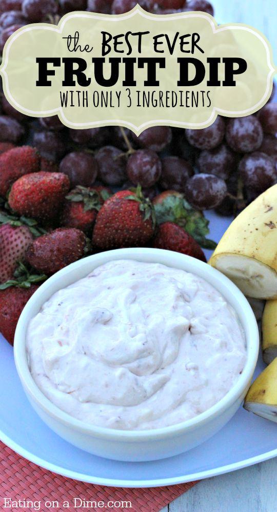 family fruit fruit dip recipe