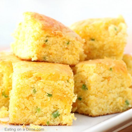 Side Dishes To Bring To A Bbq: Cheddar Jalapeno Cornbread Recipe