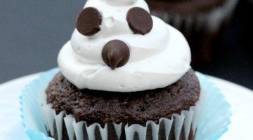 How to make Ghost Cupcakes
