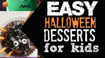 Easy Halloween Desserts for Kids