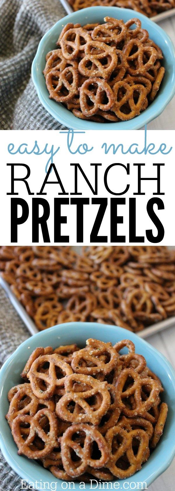 Pretzel recipes easy