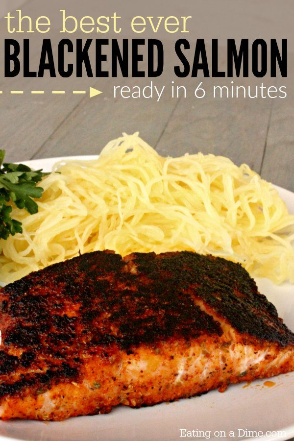 The best blackened salmon recipe eating on a dime for How to make blackened fish