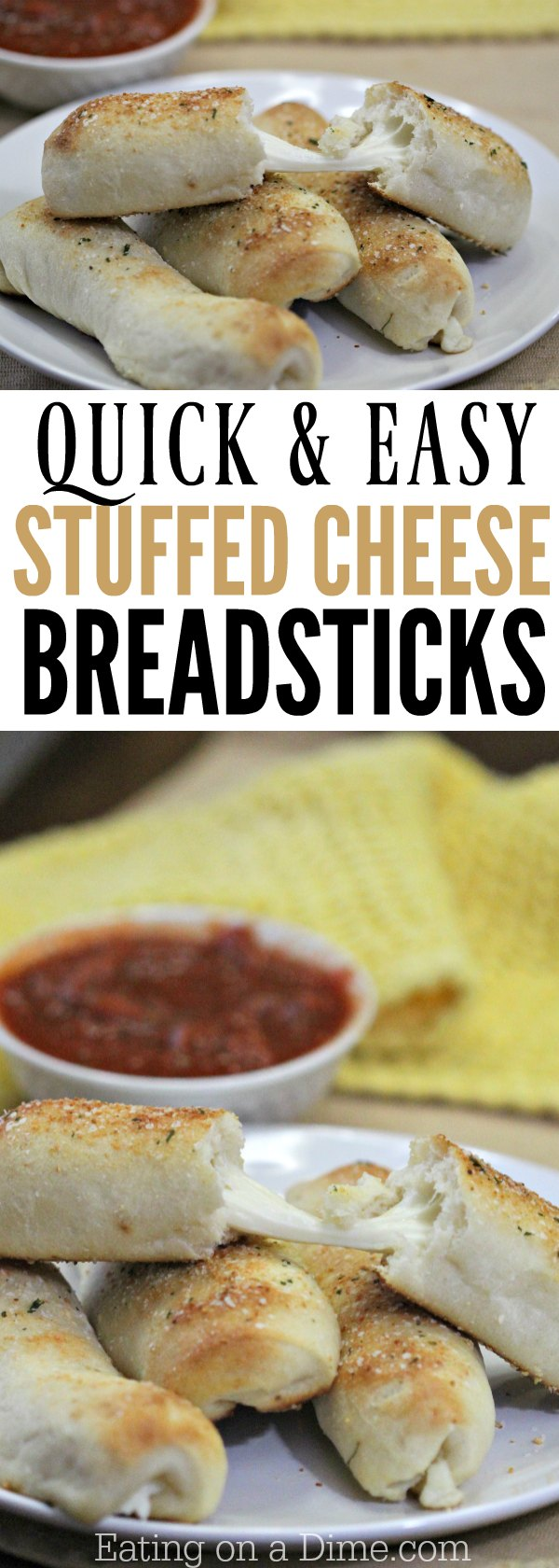 Garlic Bread Cheese Sticks Recipe Eating On A Dime