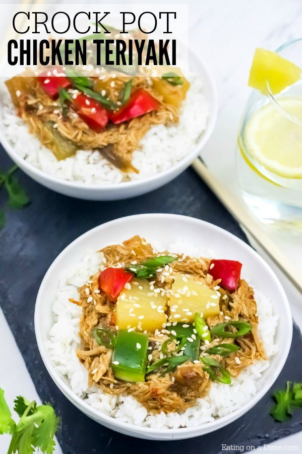 Crock Pot Teriyaki Chicken Recipe Eating On A Dime