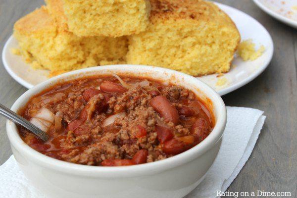 Easy delicious crock pot chili recipes