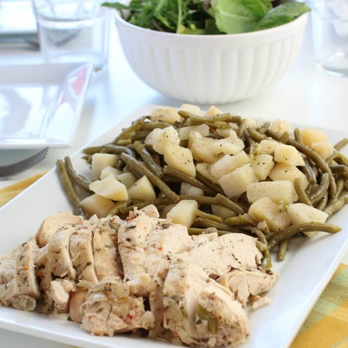 If you need an easy and delicious dinner idea, Crock pot Italian chicken recipe is amazing! Crockpot italian dressing chicken is such an easy recipe. Try this one pot meal! Slow cooker italian chicken and potatoes is packed with flavor. Your family will love Slow cooker italian chicken!