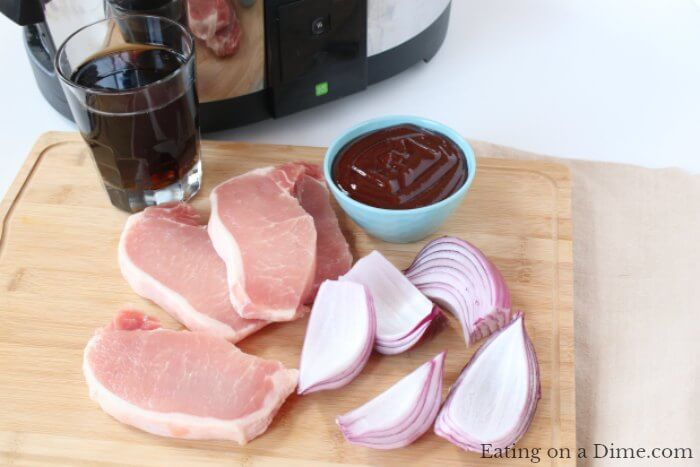 This Crock pot bbq pork chops recipe is amazing! You will be amazed how quick and easy this slow cooker bbq pork chops recipe is. BBQ Pork Chops in crock pot will be a hit. Boneless pork chops in crock pot are frugal! Try bbq pork chops crock pot recipe!