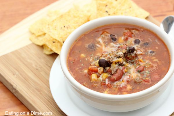 taco chili - crock pot soup