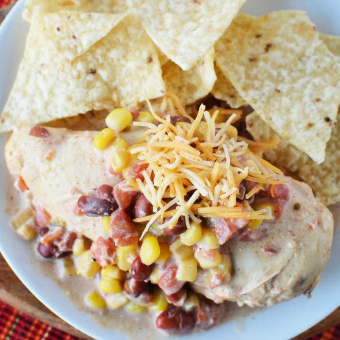 Crock Pot Santa Fe Chicken Recipe