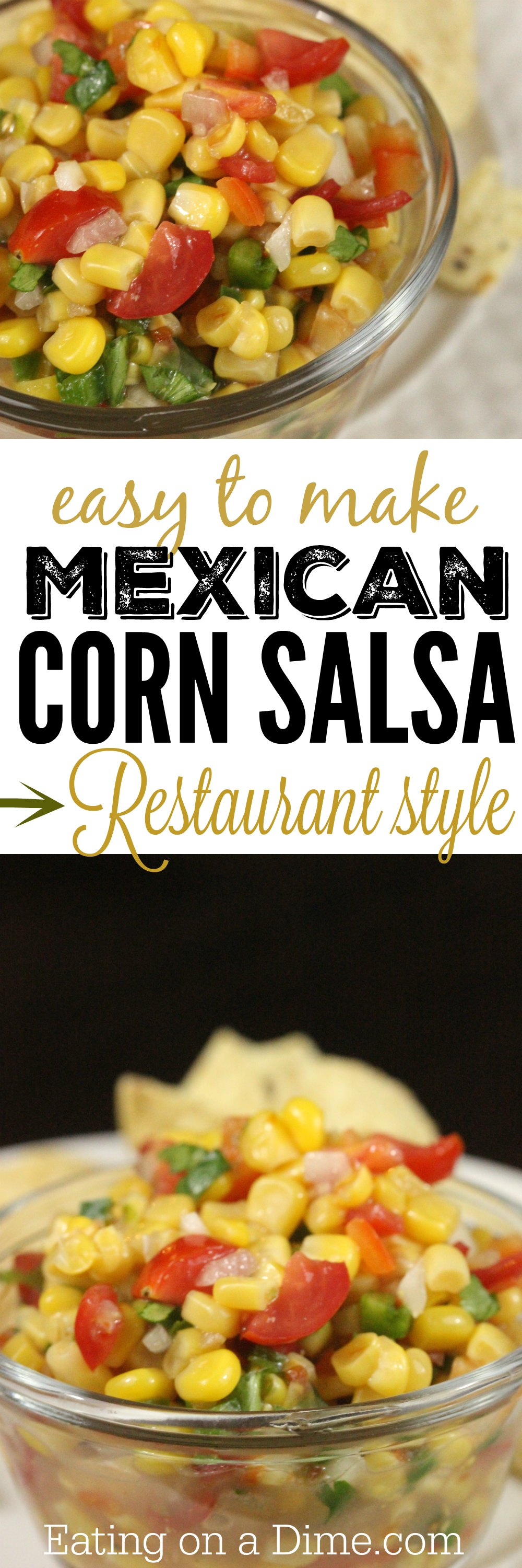 easy to make mexican corn salsa recipe