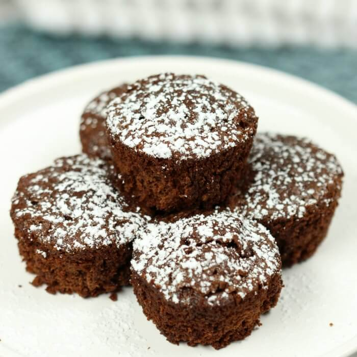 Mini Brownie Bites Recipe will be a huge hit with your family and friends! This mini brownie recipe is delicious and topped with powdered sugar. It is truly the Best brownie bites recipe! Try these two bite brownies and see why everyone is asking for more!