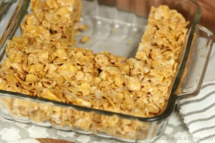 No bake cinnamon corn flake cereal bars recipe quick and easy try this no bake cinnamon corn flake cereal bars recipe they are absolutely delicious ccuart Choice Image