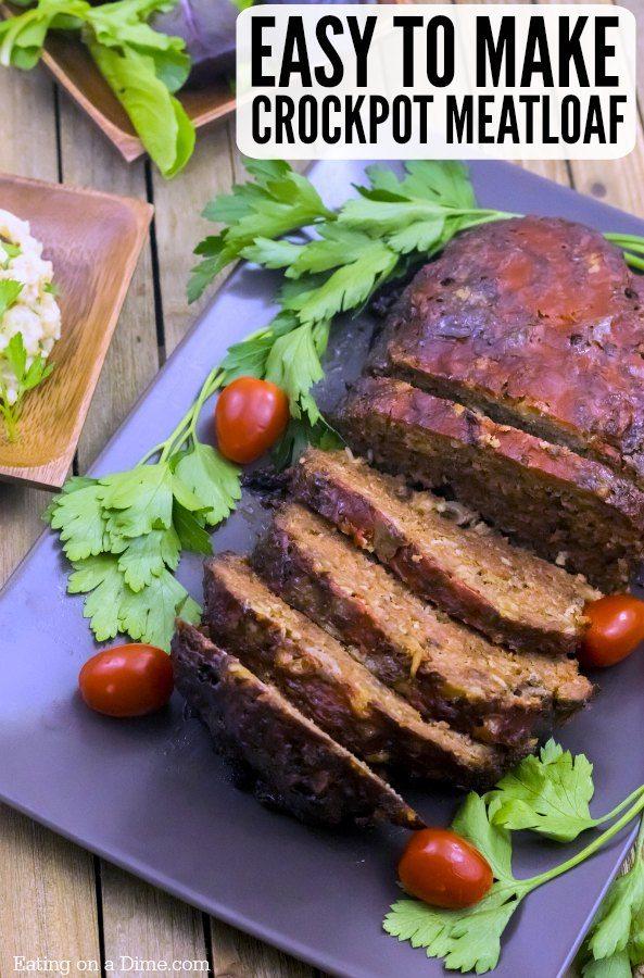 Crockpot Meatloaf Recipe Slow Cooker Traditional Meatloaf Recipe