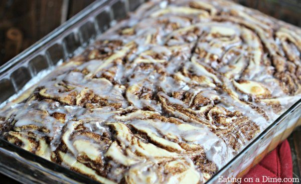 Cinnamon Roll Cake Recipe Eating On A Dime