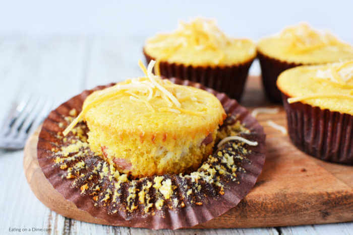 Make these frugalCorn Dog Muffins for dinner, game day and more. They are kid friendly but everyone will enjoy them. Try Mini Corn Dog muffins recipe.