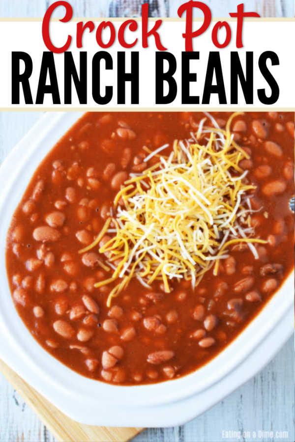 Crock Pot Ranch Style Beans Recipe Each Ranch Style Beans