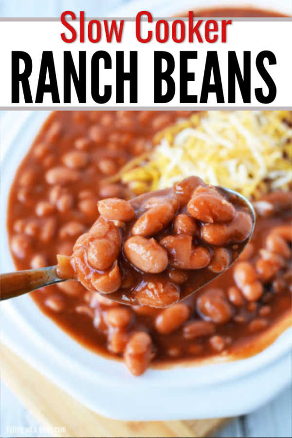 Crockpot baked beans with canned pinto