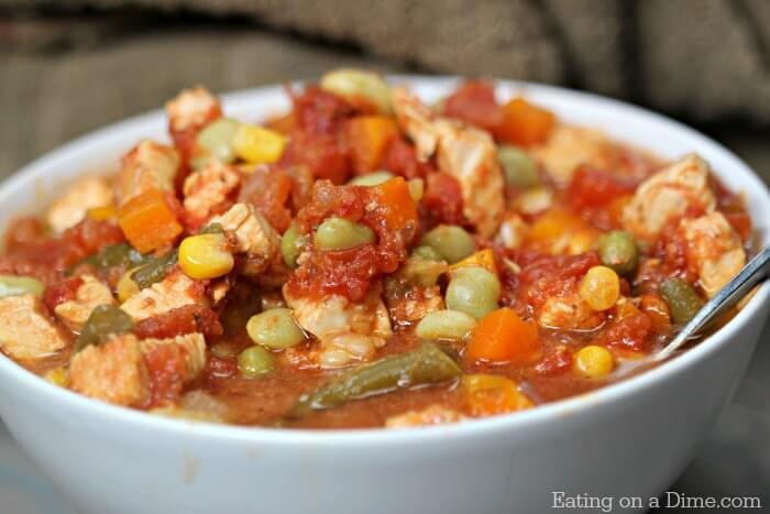 Crockpot Chicken Vegetable Soup Recipe Slow Cooker Chicken Soup