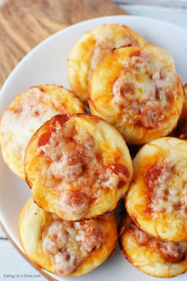 Easy Pizza Cupcakes