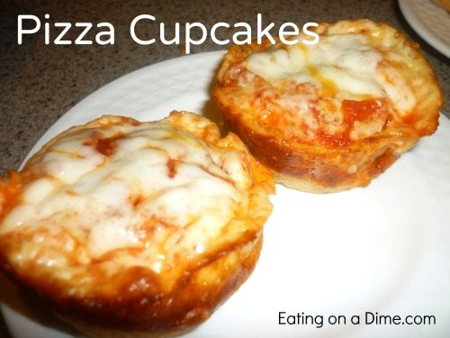 another fun pizza recipe pizza cupcakes eating on a dime