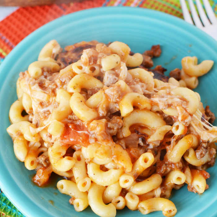 Easy Italian Macaroni And Cheese Casserole Recipe