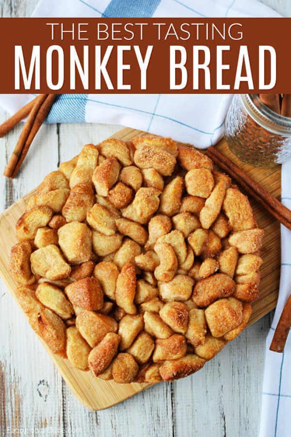The Best Monkey Bread Recipe Cinnamon Pull Apart Bread