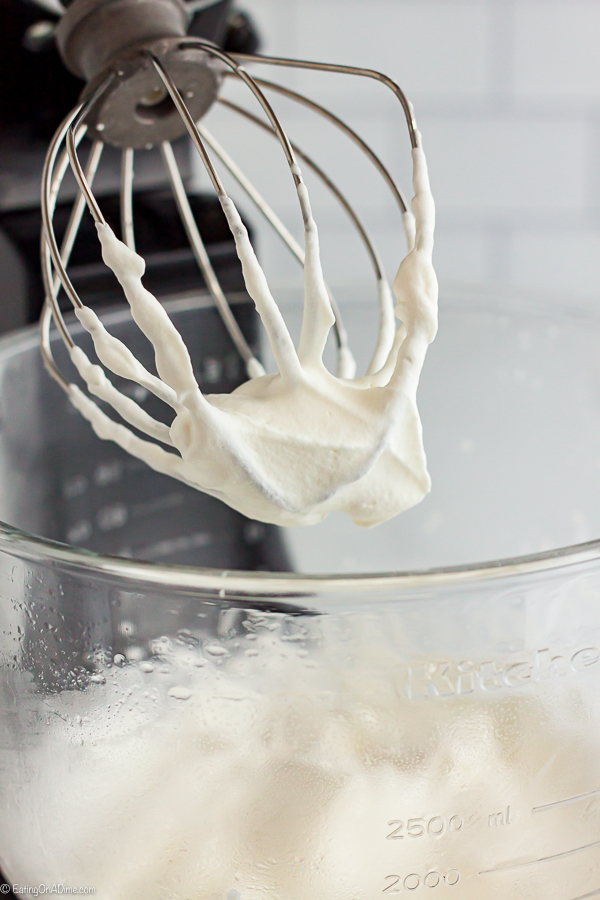 Once you learn how to make whipped cream, it is so simple and tastes much better than store bought. This whipped cream recipe is easy and tastes great!
