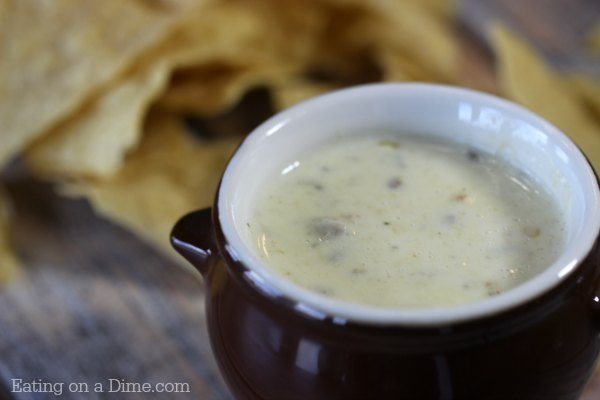This Is The Best Mexican White Cheese Dip An Authentic Queso Dip That Tastes Just