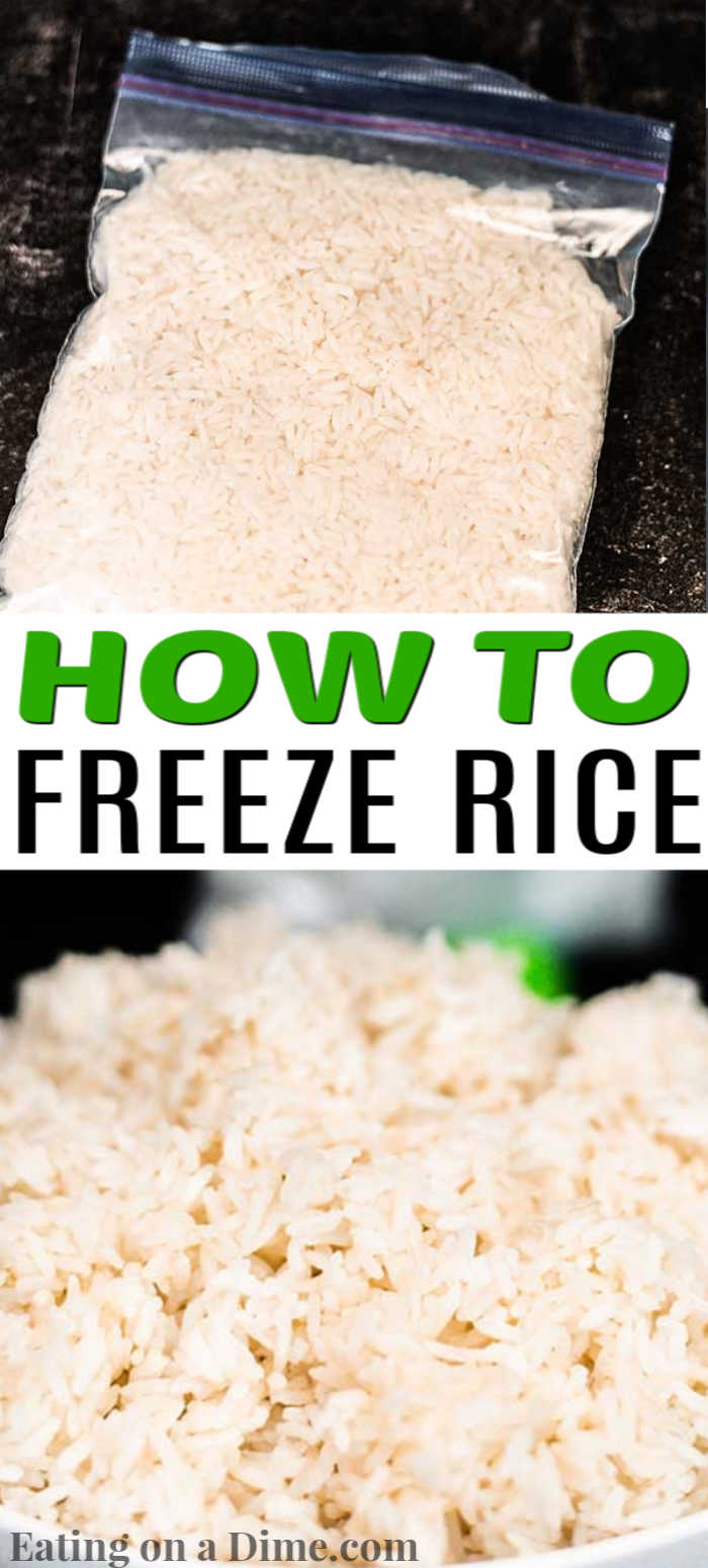 Learn how to freeze rice and save time and money. We have been doing this for awhile now and it helps so much during busy weeknights.
