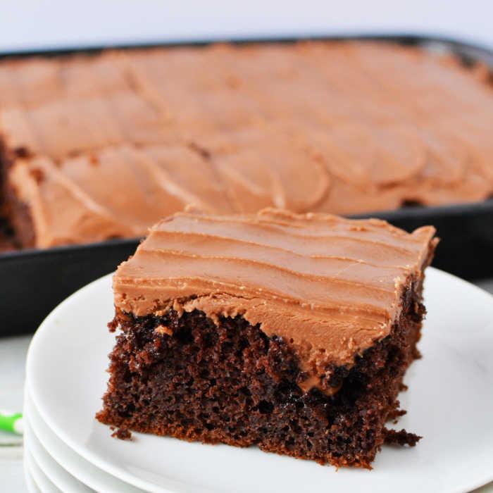 Super Moist Cola Chocolate Cake Recipe Eating On A Dime